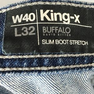 Factory Distressed Buffalo by David Bitton Jeans